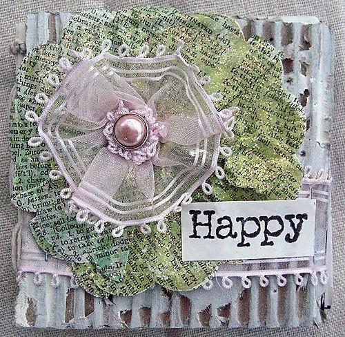 Happy mini-book