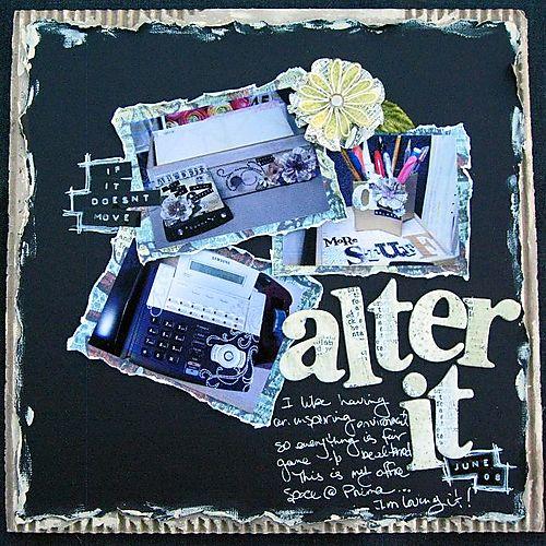 Alter it