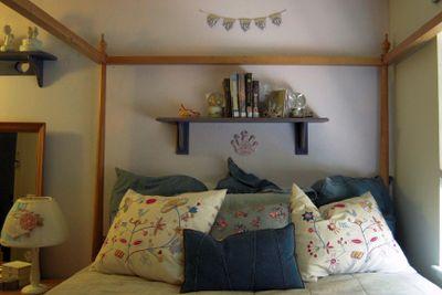 Genna's bed