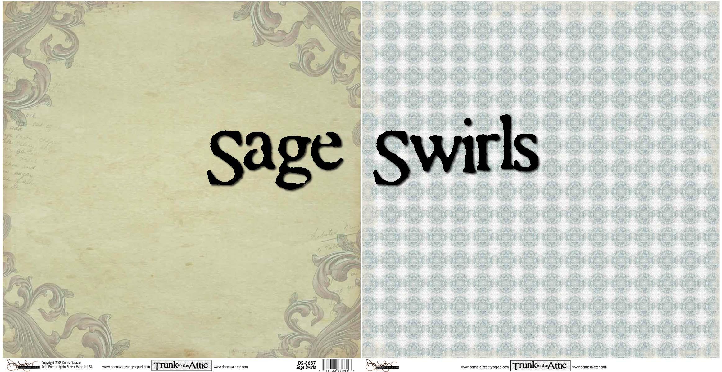 Sage swirls