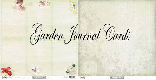 Garden journal cards