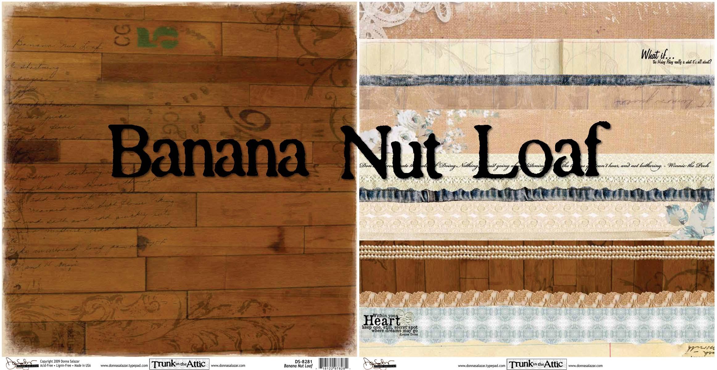 Banana nut loaf
