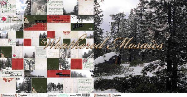 Weathered mosaics