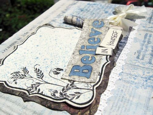Altered book close