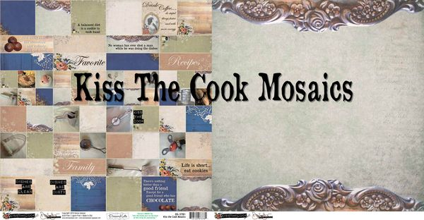 Kiss the cook mosaics
