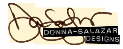 Donna Salazar designs